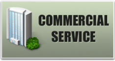 We cover commercial service